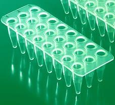 24-well ABgene PCR Plate, Semi-Skirted (Green)