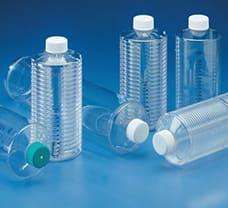 2X Roller Bottle, Pleated, PETG, 1700Cm²