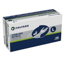 HALYARD* STERLING* Nitrile Exam Gloves L