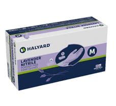 HALYARD* LAVENDER* Nitrile Exam Gloves M