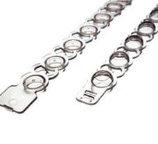 ABgene Strips of 8 Flat Caps-AB0784