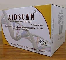AIDSCAN HIV-1/2 TRISPOT TEST KIT