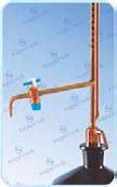 Amber Color Burette Automatic Zero Class B, 100 ml