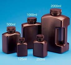 Amber Rectangular Bottle, 125 ml-583420
