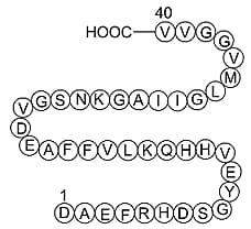 Amyloid Beta-Peptide (1-40) (human)