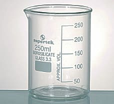 Beaker, Tall Form, With Graduation & Spout, 100 ml-15.104.0100