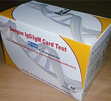BHAT BIO-SCAN DENGUE IgG/IgM CARD TEST
