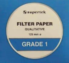Filter Paper Grade 1, 125 mm