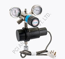 P-Lok Two  Stage Cylinder Regulator With PreHeater