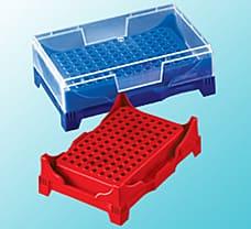 PCR Workup Rack with Lid, PP, Tube Capacity-1 ml-P11101