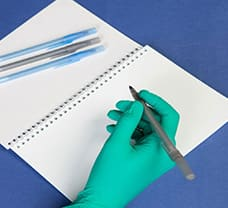 Sterile Clean room Pen Blue